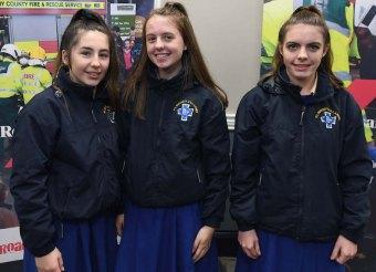 Amy Leahy, Sarah Lyne and Clodagh Carroll, St Brigid's Secondary School, Killarney