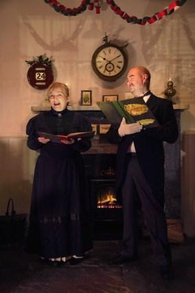 'Twas the night before Christmas: Liz Ryan and Michael Mills of Dochás Drama Group