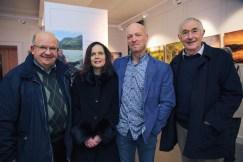 Pat Donovan, Mary Lyne, Brendan O'Toole and Cormac Foley