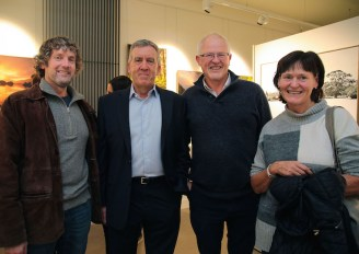 Peter O'Toole (second left) with Mike Sandover, Donal O'Dowd and Una Moroney