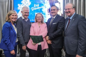 Fionbarr Walsh, Martime Hotel, Bantry, Alison Levins, Fáilte Ireland, Frits Potieter, Muckross Park Hotel and John Griffin, Kerry County Council