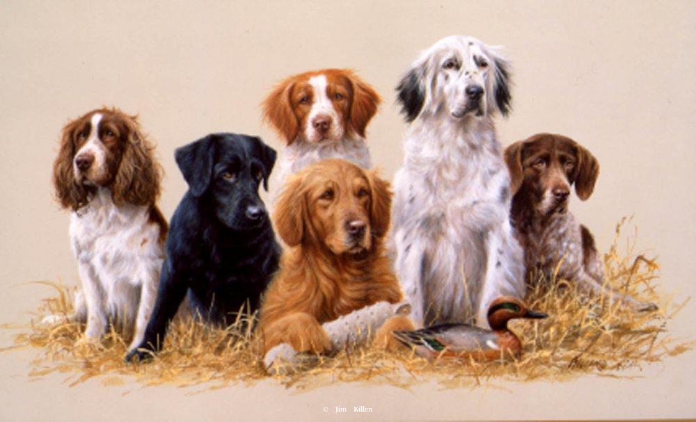 """Class Reunion"" Painting by Jim Killen"