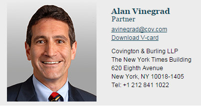 The Sociopathic Business Model™ Covington Partner Alan Vinegrad