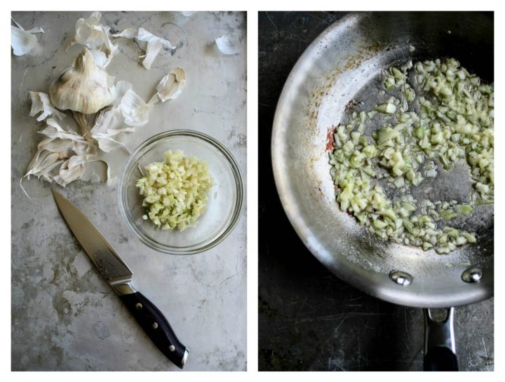 Garlic Collage