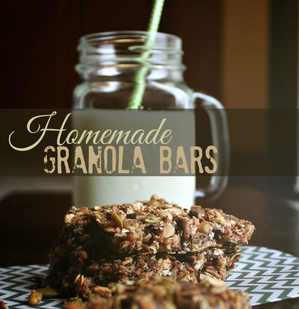 granola bars header