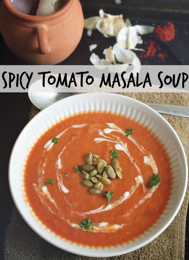 spicy tomato masala soup header