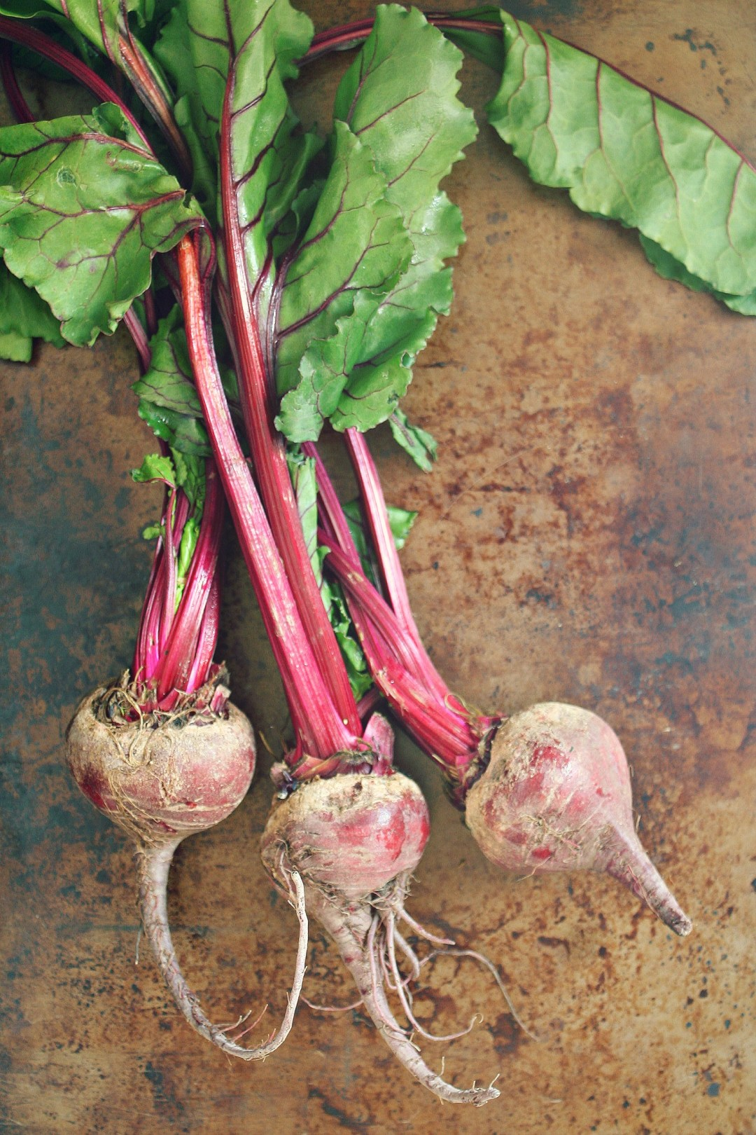 raw beet bunch
