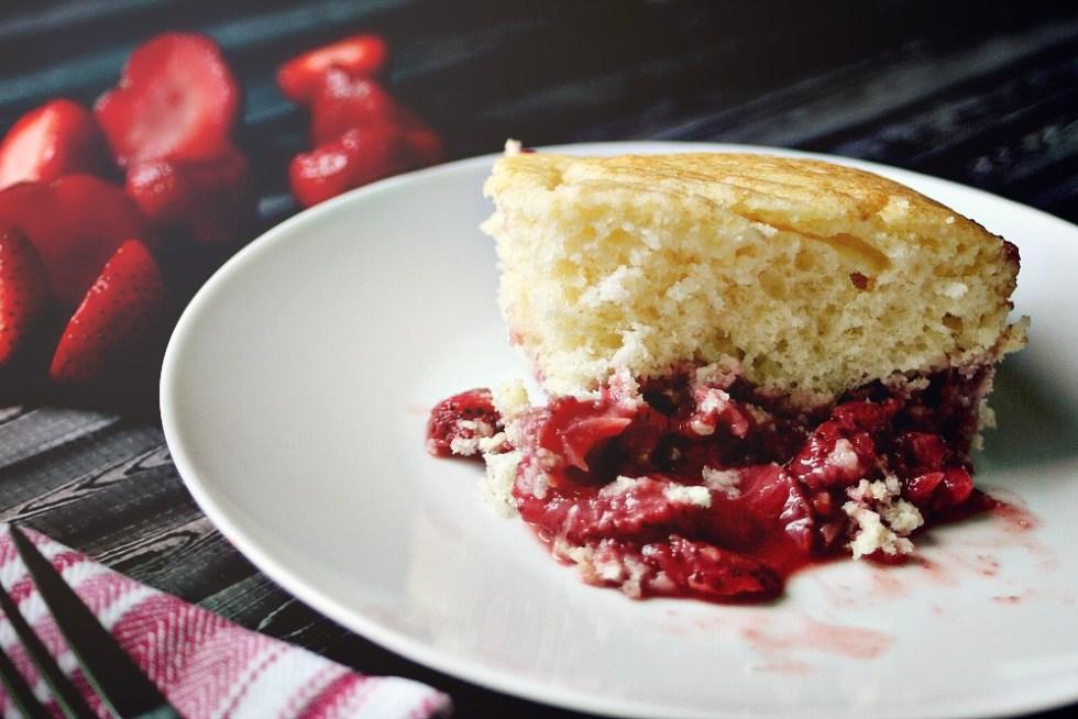 strawberry dump cake 2