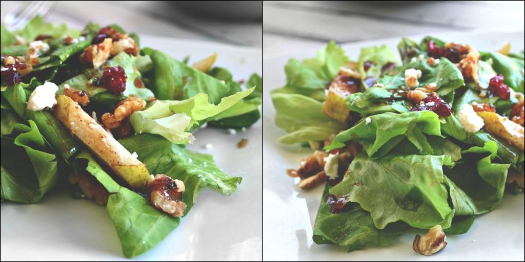 Pear and Walnut Salad 4