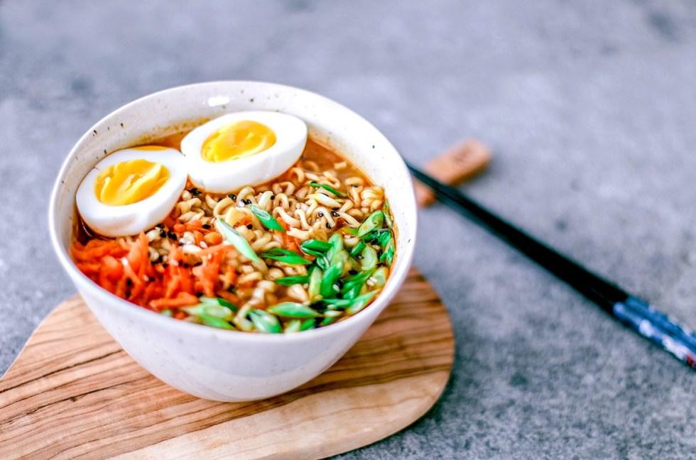 Easy Homemade Ramen Bowl