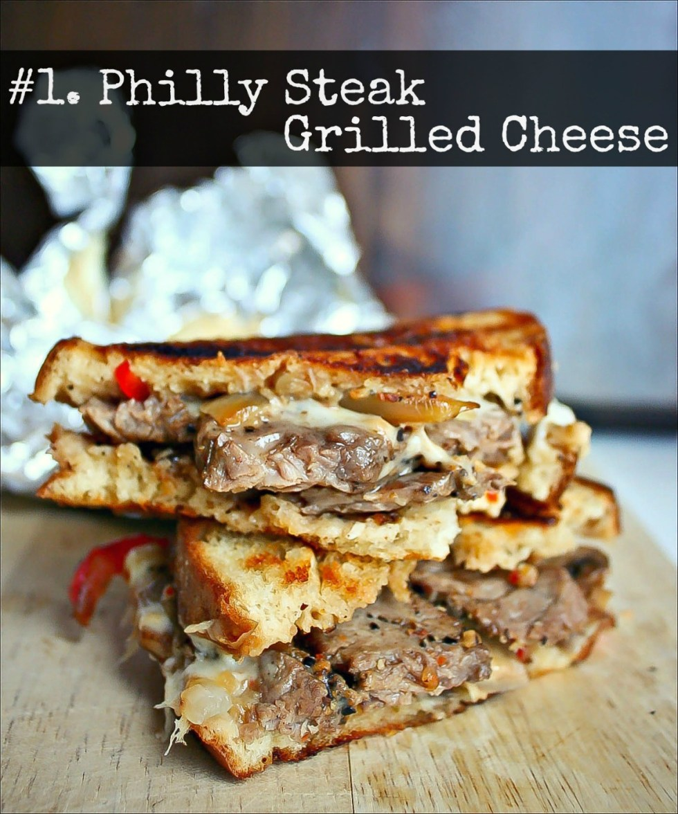 1 Philly Steak Grilled Cheese