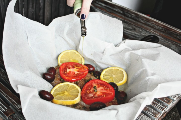 Fish Steamed in Parchment 3