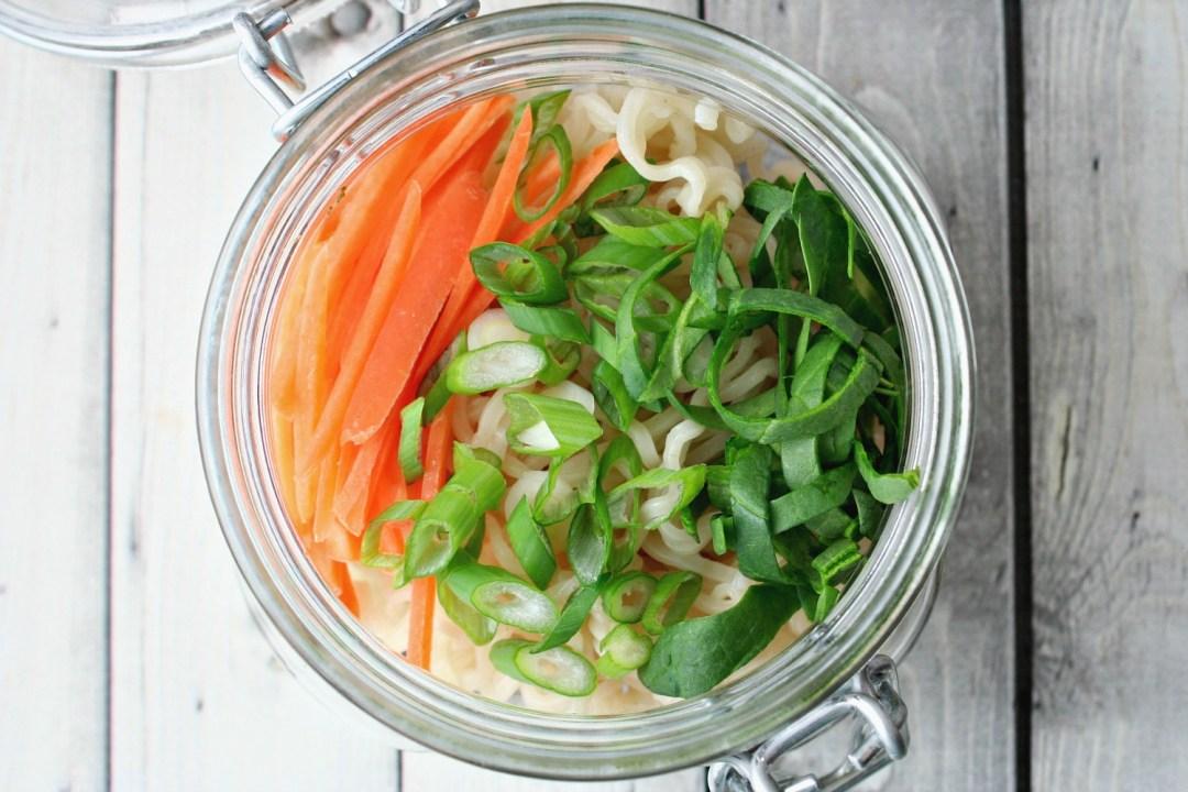 Instant Ramen Vegetables