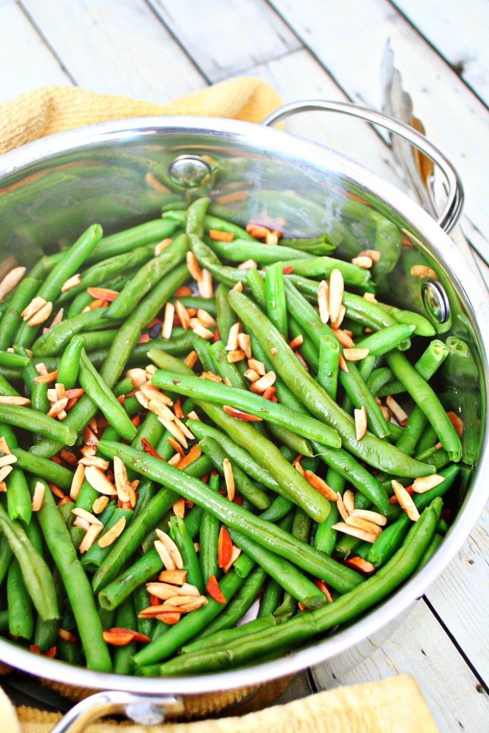 Green Beans Almondine 2