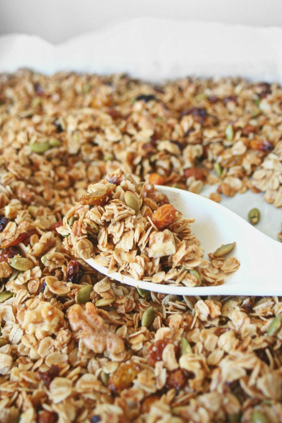 Homemade Granola Tray 4