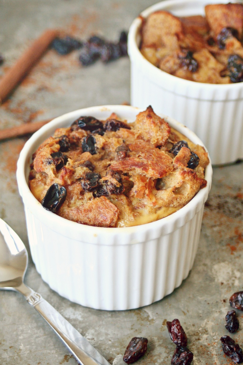 Rum and Raisin Bread Pudding 2