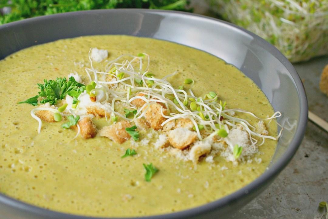 Spring Asparagus Soup 5