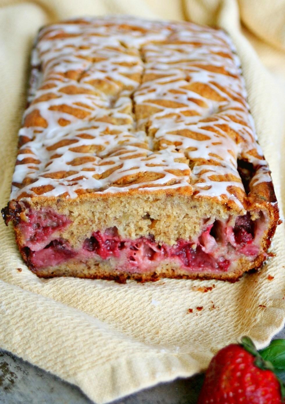 Strawberry Banana Bread 2