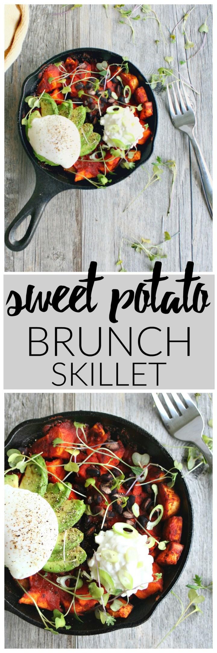Sweet Potato Brunch Skillet | Killing Thyme