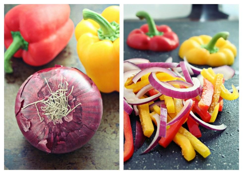 fajita-vegetable-collage