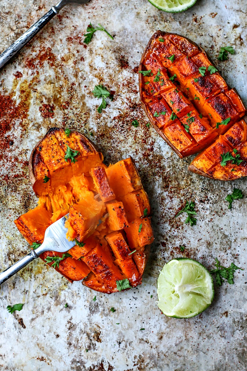 Sweet potato recipes with lime juice