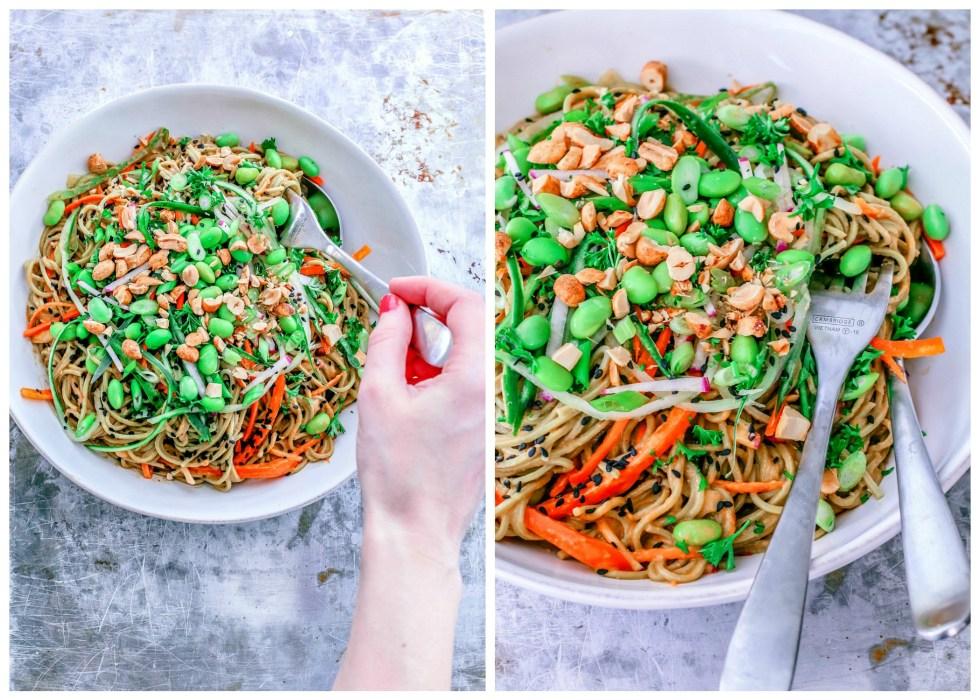 Cold Soba Noodle Salad | Killing Thyme