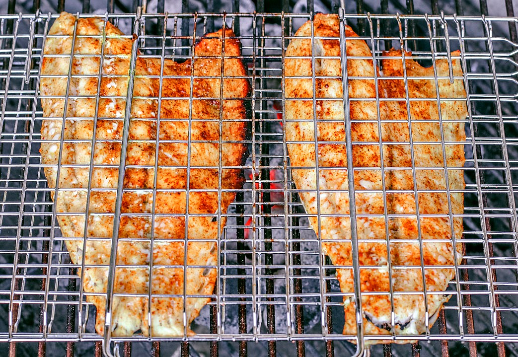 How To Grill Your Fish With A Grilling Basket | Killing Thyme