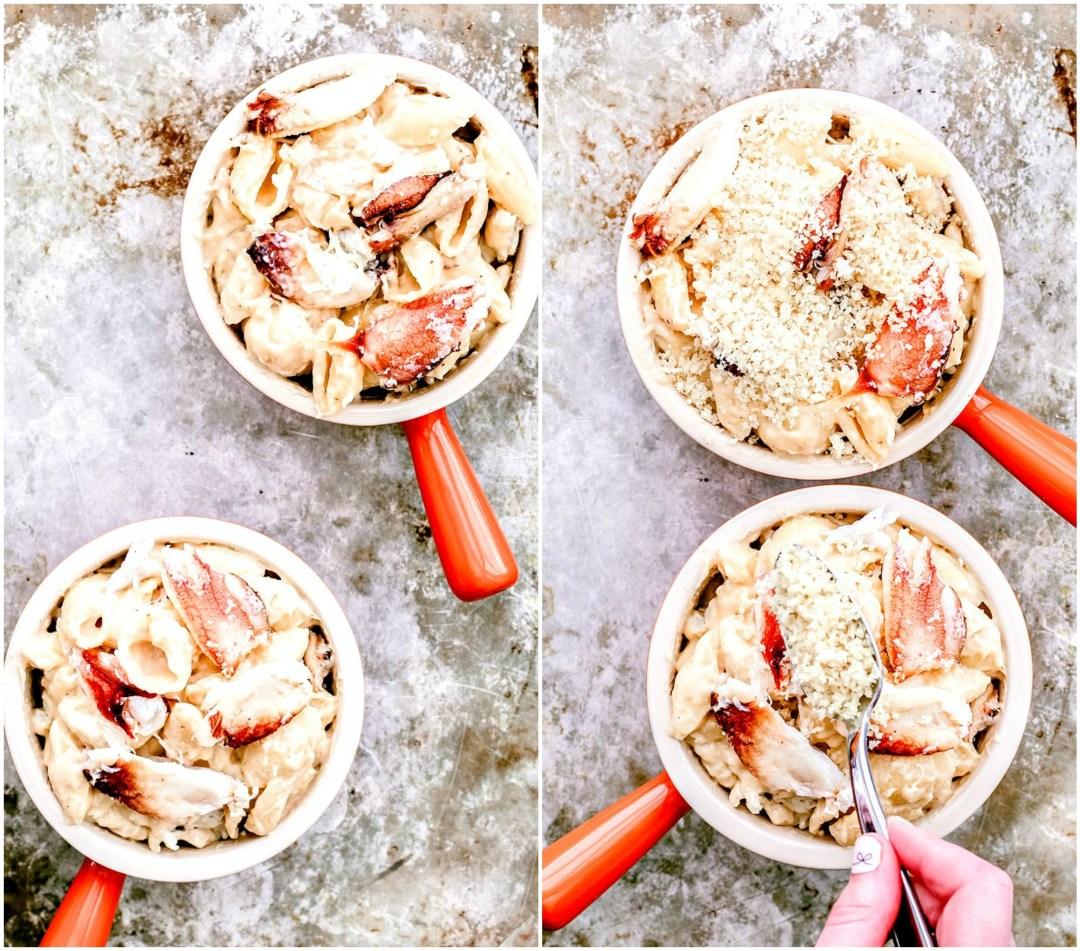 Baked Crab Mac and Cheese | Killing Thyme