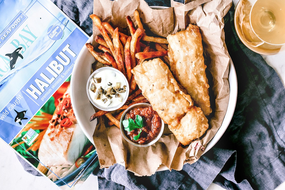 Cumin beer battered fish with jalapeo tartar sauce killing thyme you can purchase them at orca bays online store and get 15 off by using my perk code fandeluxe Images