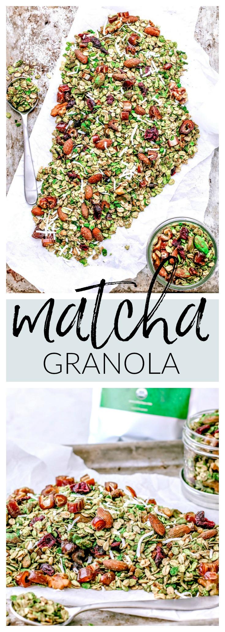 Matcha Granola | Killing Thyme