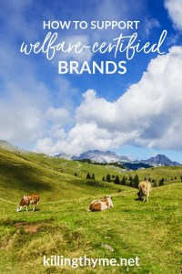 How to Support Welfare Certified Brands