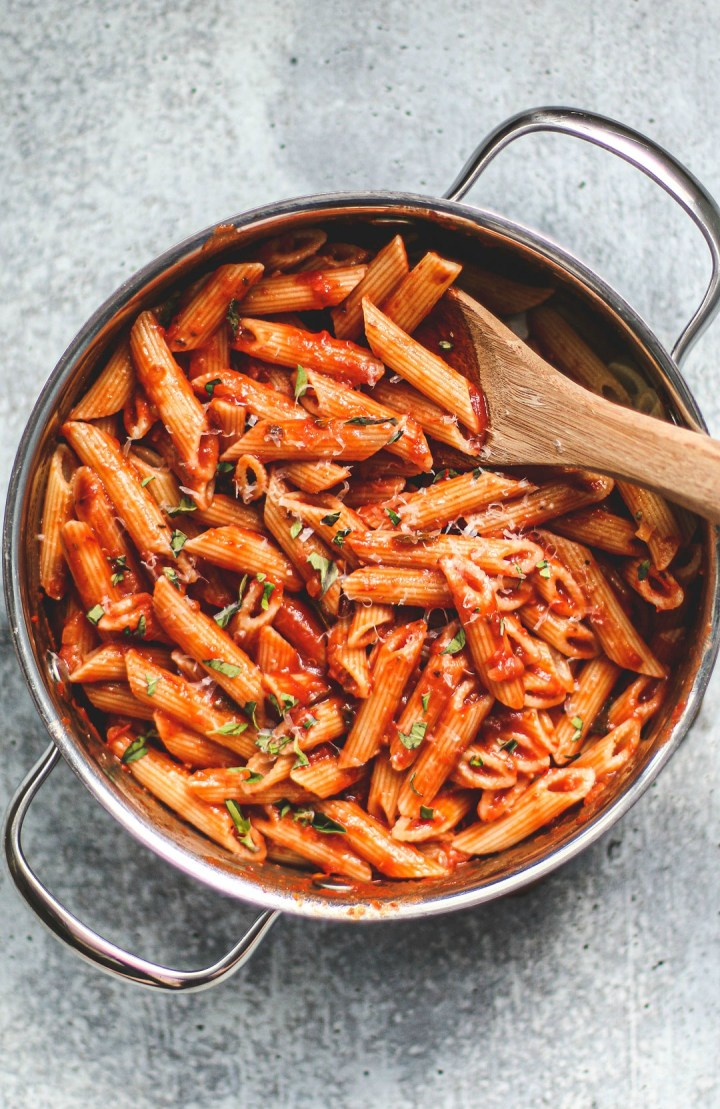 Easy Homemade Marinara Sauce.