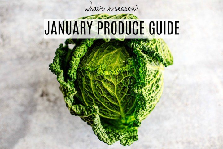 January Produce Guide.