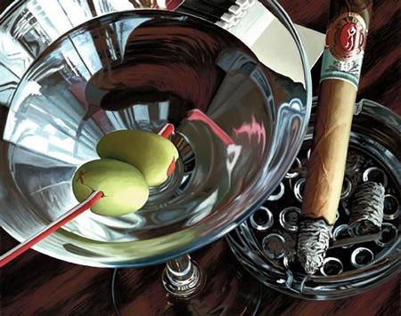 Martini-Cigar