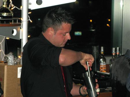 Brandon Bowsher — Iron Bartender Martini Park