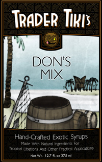 Trader Tiki's Hand-Crafted Exotic Syrups—Don's Mix