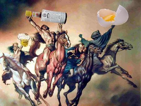 Three horsemen of the cocktail apocalypse the bitterlypse times three