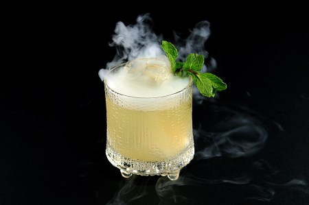 The OYO Lani, a tiki drink using OYO Honey Vanilla Bean Vodka