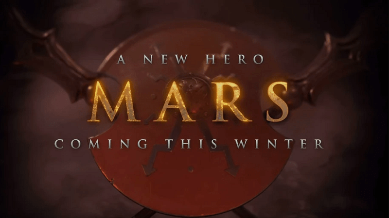 Dota 2s New Hero Mars Expected To Release This Week Kill Ping