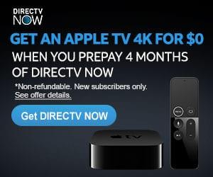 DirecTV Now Apple TV
