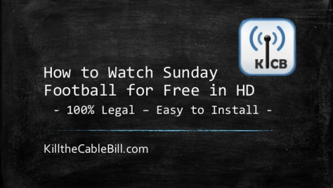 How to Watch Sunday Fooball
