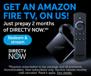 DirecTV Now Free Amazon Fire TV