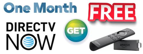 Free Fire Stick DirecTV Now