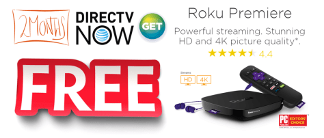 Roku DirecTV Now Promo
