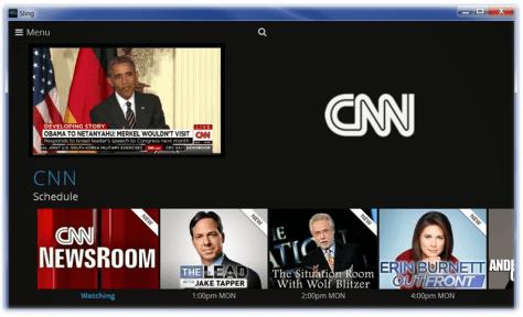 Sling TV CNN