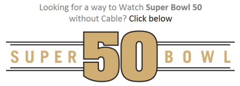 Watch Super Bowl 50 Without Cable