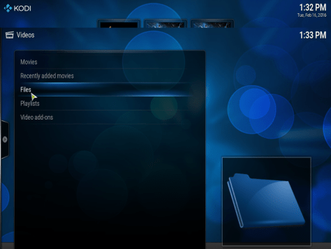 How to setup Kodi