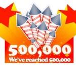 QSX Goes 500K