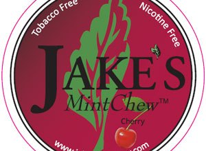 Photo of Jake's Mint Chew – Cherry