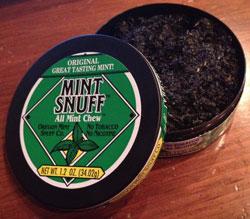 Mint Snuff Original